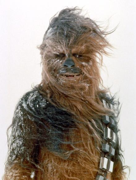 Chewbacca dandruff